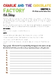 Charlie and the Chocolate Factory - Chapter 3 Note Taking Activity