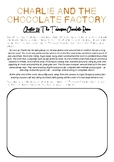 Charlie and the Chocolate Factory - Chapter 26 Imagery Worksheet
