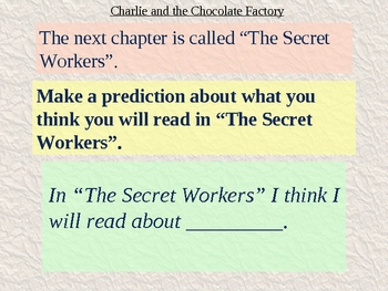 Charlie and the Chocolate Factory Chapter 3 Vocabulary