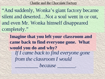 Charlie and the Chocolate Factory Chapter 4 Vocabulary