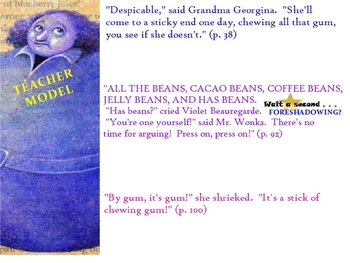 Charlie and the Chocolate Factory Common Core Novel Flipchart