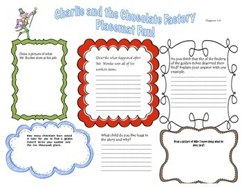 Charlie and the Chocolate Factory: Comprehension, Writing, Math and Science