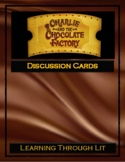 CHARLIE AND THE CHOCOLATE FACTORY Dahl - Discussion Cards PRINTABLE & SHAREABLE