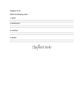 Charlie and the Chocolate Factory Flipbook Chapters 16-30