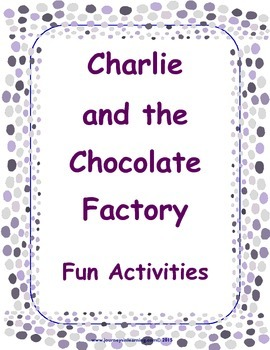 Charlie and the Chocolate Factory Fun Activities