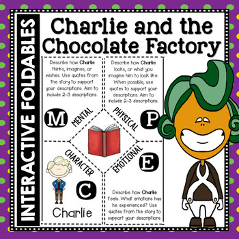 Charlie and the Chocolate Factory: Reading and Writing Interactive Notebook