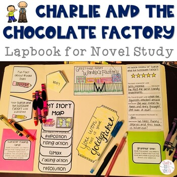 Charlie and the Chocolate Factory Lapbook for Novel Study