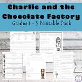 Charlie and the Chocolate Factory Grades 1 - 3 Printable Pack