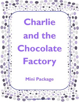 Charlie and the Chocolate Factory Mini Package