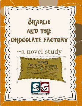 Charlie and the Chocolate Factory Novel Study - Vocabulary