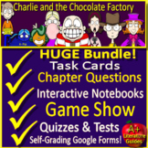 Charlie and the Chocolate Factory Distance Learning Novel Study: GOOGLE FORMS!
