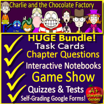 Charlie and the Chocolate Factory Unit Novel Study