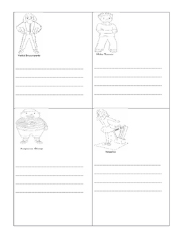 Charlie and the Chocolate Factory Possessives writing activity