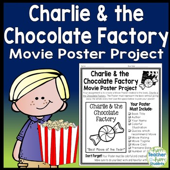 charlie and the chocolate factory project create a movie