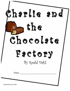 Charlie and the Chocolate Factory Response Packet