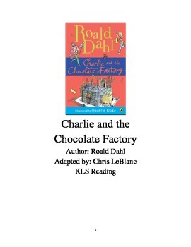 Charlie and the Chocolate Factory - Roald Dahl - Adapted book summary review