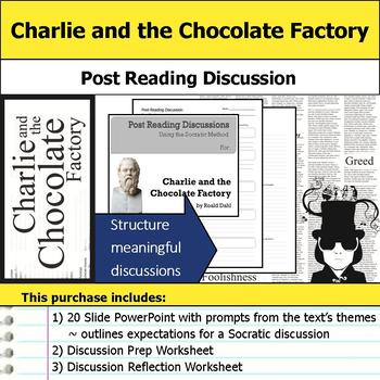 Charlie and the Chocolate Factory - Socratic Method - Post Reading Discussions