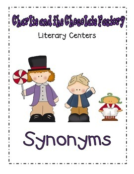 Charlie and the Chocolate Factory- Syynonyms