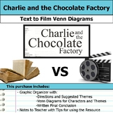 Charlie and the Chocolate Factory - Text to Film Venn Diagram and Essay