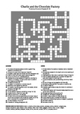 Charlie and the Chocolate Factory - Vocabulary Crossword Chapters 25 - 30