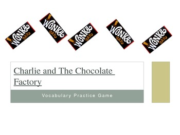 Charlie and the Chocolate Factory Vocabulary Game