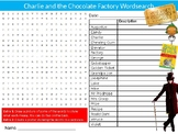 Charlie and the Chocolate Factory Wordsearch Puzzle Sheet English Literature