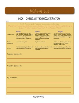 Charlie and the Chocolate Factory by Roald Dahl Guided Reading US Version