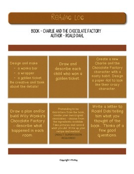 Charlie and the Chocolate Factory by Roald Dahl Guided Rea