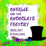 Charlie and the Chocolate Factory novel unit