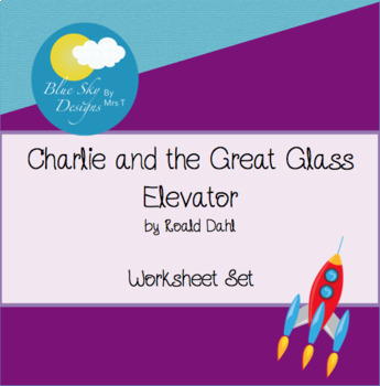 Charlie and the Great Glass Elevator Word Scramble and Search