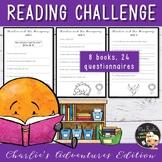 Charlie's adventures Reading Challenge