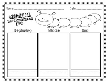 Charlie the Caterpillar Graphic Organizer