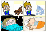 Reading Comprehension Picture Match Story (1st-2nd Grade Reading Level)