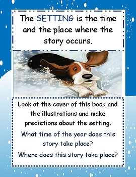 Charlie the Ranch Dog Charlie's Snow Day Primary Novel Study Guide Teaching Unit