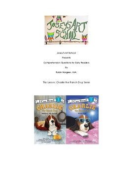 Charlie the Ranch Dog Early Readers Pre-K to 1st Reading Comprehension