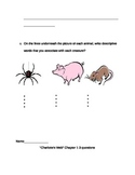 Charlotes web comprehension unit
