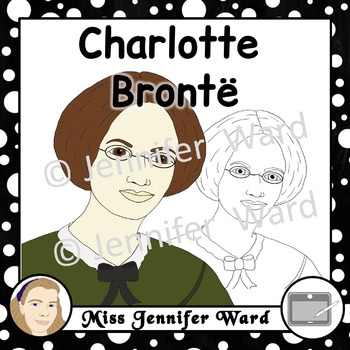 Charlotte Brontë Clipart