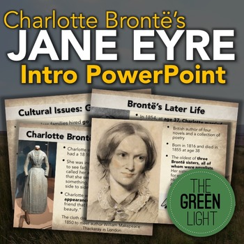 Charlotte Bronte's Jane Eyre Introductory PowerPoint and Activity