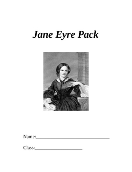 Charlotte Bronte's Jane Eyre Handout Booklet