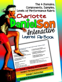 Charlotte Danielson 2007-2011 Flip Book: Domains, Samples