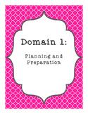 Charlotte Danielson Framework Binder Pages