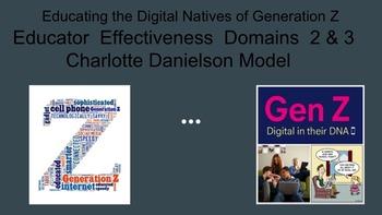 Charlotte Danielson Model - Educator Effectiveness Domains 2 & 3