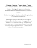 Charlotte Danielson Teacher Evidence Binder Checklist