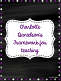 Charlotte Danielson's Evaluation help!