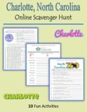Charlotte, North Carolina - Online Scavenger Hunt