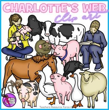 Charlotte's Web Clip Art