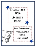 End of Year Charlotte's Web Activity Pack! Bring the Book to Life!