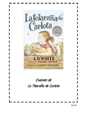 Charlotte's Web Assessment (Spanish)