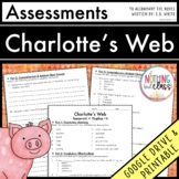 Charlotte's Web: Tests, Quizzes, Assessments