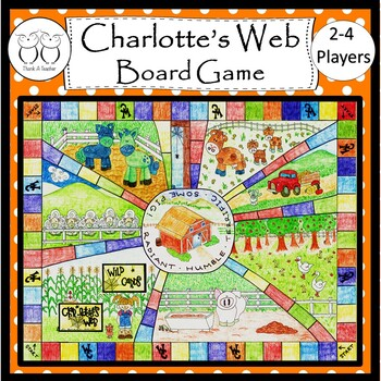 Charlotte's Web Board Game